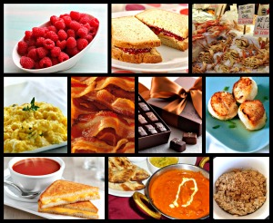 30 day blogging challenge day 11 Favorite foods