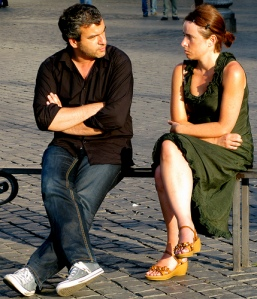 Arguing Lovers for 10 Tips for Post Talk
