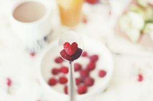 raspberry valentines day