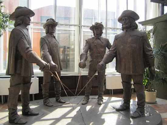 the-four-musketeers