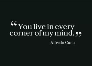 you live in every corner of my mind