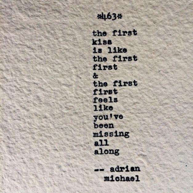 first kiss first first
