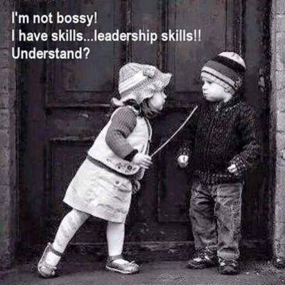 Im not bossy