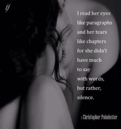 her silence speaks