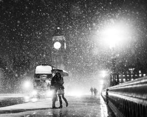 london lovers rain